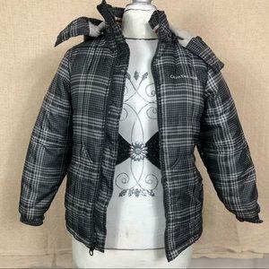 CALVIN KLEIN Youth Medium Puffer Winter Jacket